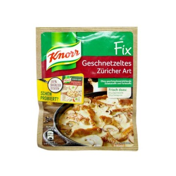 Knorr Fix Geschnetzeltes Züricher Art 41g/ Sauce for Mushrooms Stew