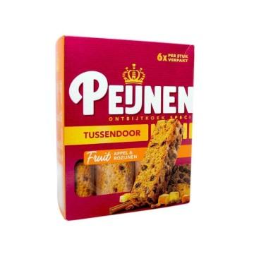 Peijnenburg Tussendoor Appel & Rozijnen x6/ Bizcochos con Pasas y Manzana