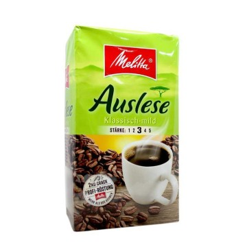 Melitta Auslese Klassisch-Mild Stärke 3 500g/ Ground Coffee