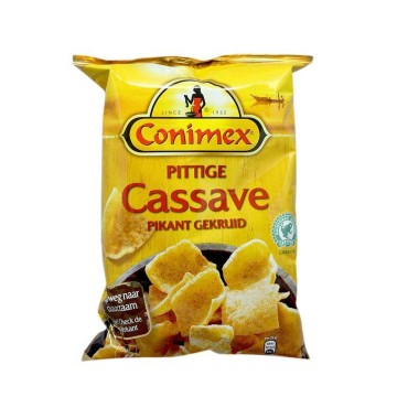 Conimex Pittige Cassave Pikant Gekruid 75g/ Spicy Snack