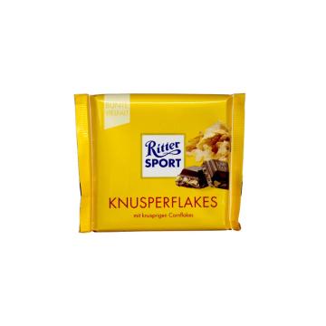 Ritter Sport Knusperflakes 100g/ Chocolate CornFlakes