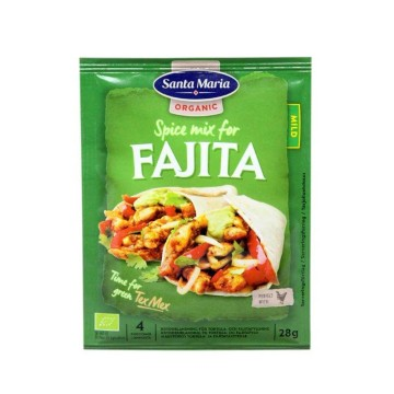 Santa Maria Eco Spice Mix for Fajita Mild 28g