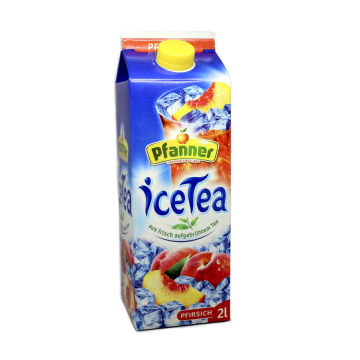 Pfanner Ice Tea Pfirsich 2L/ Cold Peach Tea