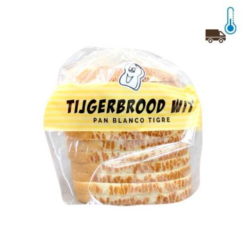 De Hollandse Tijgerbrood Wit 400g/ Tiger Bread