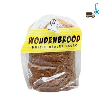 De Hollandse Woudenbrood 400g/ Black Multicereal Bread