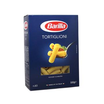 Barilla Tortiglioni n83 500g/ Macarrones grandes