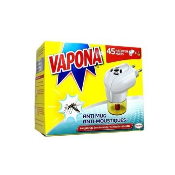 Vapona Anti Mug Stekker/Anti Mosquitos Eléctrico
