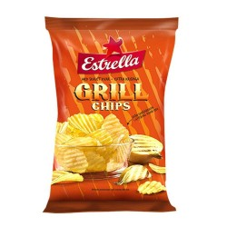 Estrella Chips Grill 175Gr/ Patatas