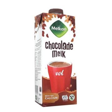 Melkan Volle Chocolade Melk 1L/ Chocolate Shake