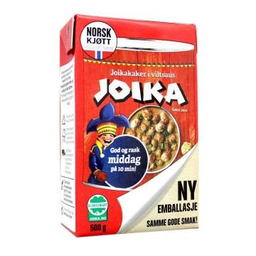Joika Joikakaker i Viltsaus 500g/ Norwegian Reindeer Meatballs Stew