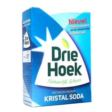 Driehoek Geconcentreerde Kristal Soda 600g/ Concentrated Cleaning Soda