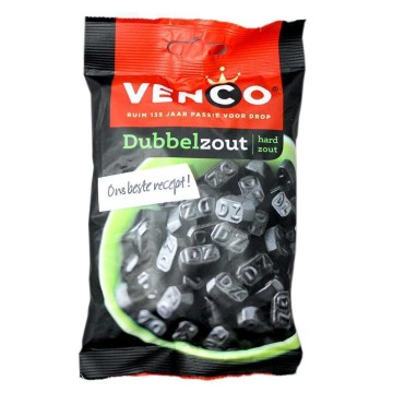 Venco Dubbelzout 173g/ Double Salted Licorice