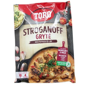 Toro Stroganoff Gryte 104g/ Stroganoff Pot