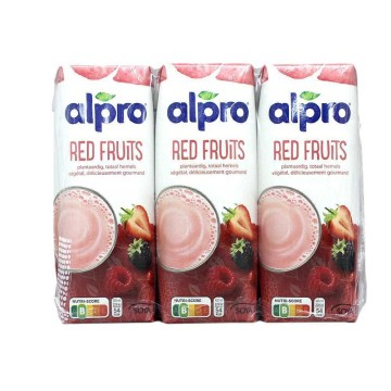 Alpro Red Fruits Soya Drink 250ml x3