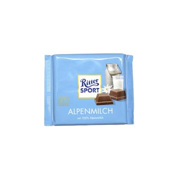 Ritter Sport Alpenmilch 100g/ Chocolate con Leche
