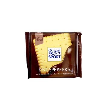 Ritter Sport Knusperkeks 100g/ Chocolate con Galleta