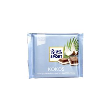 Ritter Sport Kokos 100g/ Chocolate con Coco