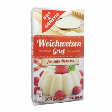 Gut&Günstig Weichweizengrieß 500g/ Soft Wheat Semolina