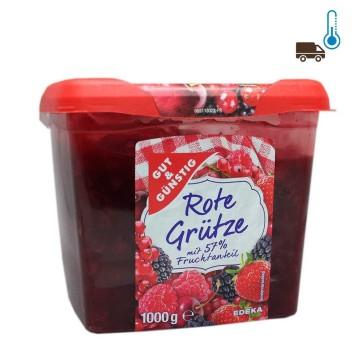 Gut&Günstig Rote Grütze 1Kg/ Gelatina de Frutos Rojos