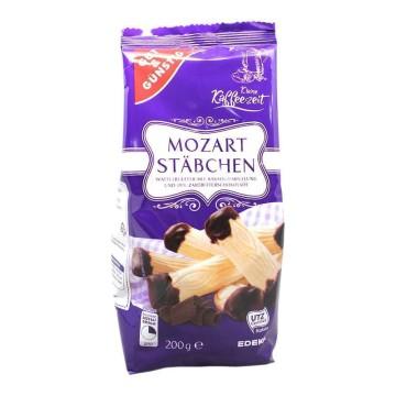 Gut&Günstig Mozart Stäbchen 200g/ Chocolate Filled Wafels