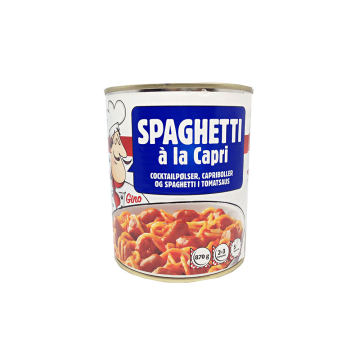 Gino Spaghetti À La Capri 870g/ Espaguetis Preparados