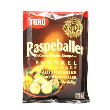 Toro Raspeballer 206g/ Potato Dumplings