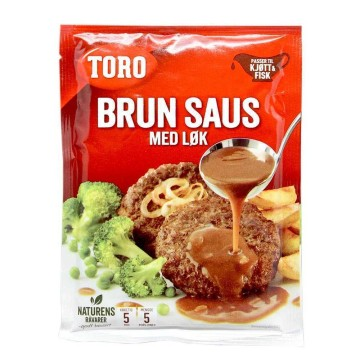 Toro Brun Saus med Løk 47g/ Meat Sauce with Onions
