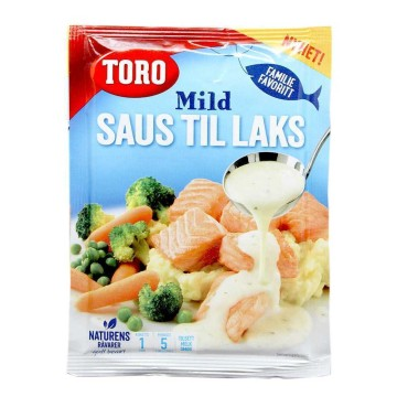 Toro Mild Saus til Laks 36g/ Salsa para Salmón