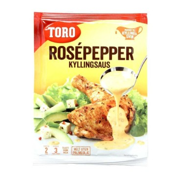 Toro Rosépepper Kyllingsaus 39g/ Rose Pepper Chicken Sauce