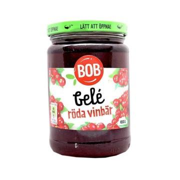 Bob Gelé Röda Vonbär 450g/ Mermelada Grosellas Rojas