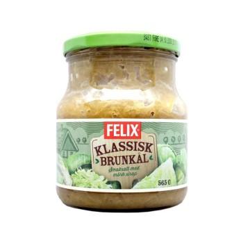 Felix Klassisk Brunkål 565g/ Brown Cabbage