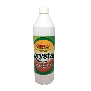 Krystal Skinnende Rent For Tree&Parkett 750ml/ Limpia Suelos para Parquet