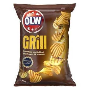 Olw Grill 175g/ Chips