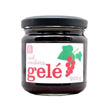 Garant Rödvinbärs Gelé 225g/ Mermelada Arándano Rojo