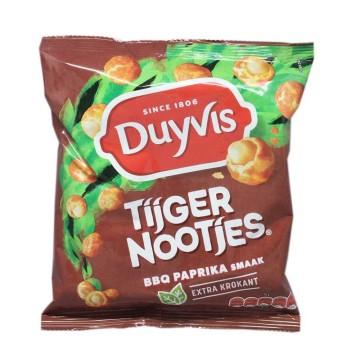 Duyvis Tijgernootjes BBQ Paprika Smaak 280g/ Crunchy Peanuts BBQ Flavour