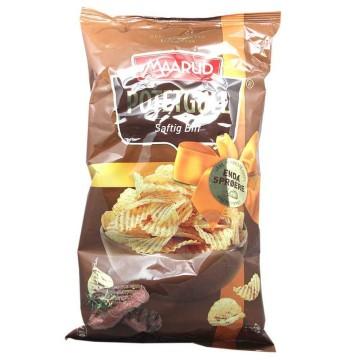Maarud Potetgull Saftig Biff 250g/ Patatas Fritas sabor Ternera