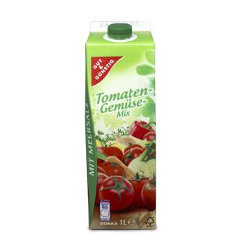 Gut&Günstig Tomaten-Gemüse Mix 1L/ Zumo Tomate y Verduras