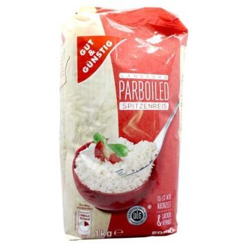 Gut&Günstig Parboiled Spitzenreis 1Kg/ Partboiled Rice