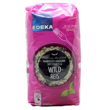 Edeka Parboiled Wildreis 500g/ Parbolied Wild Rice
