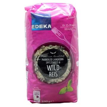 Edeka Parboiled Wildreis 500g/ Arroz Salvaje Vaporizado