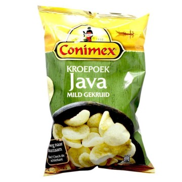 Conimex Kroepoek Java Mild Gekruid 75g/ Seasoned Prawn Crackers