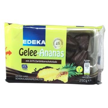 Edeka Gelee-Ananas 250g/ Pineapple&Chocolate Jellys