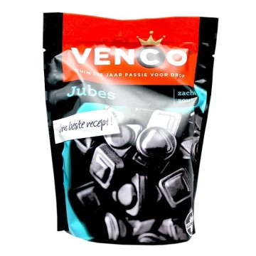 Venco Jubes 260g/ Salted Licorice Candies