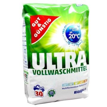 Gut&Günstig Ultra Vollwaschmittel x30/ Detergente