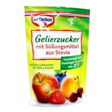 Dr.Oetker Gelierzucker mit Stevia 2:1 350g/ Azúcar Gelificante con Stevia
