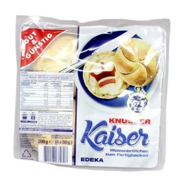 Gut&Günstig Knusper Kaiser x4/ Bread for Baking