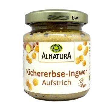 Alnatura Kichererbse-Ingwer Aufstrich 120g/ Chickpeas and Giger Spread