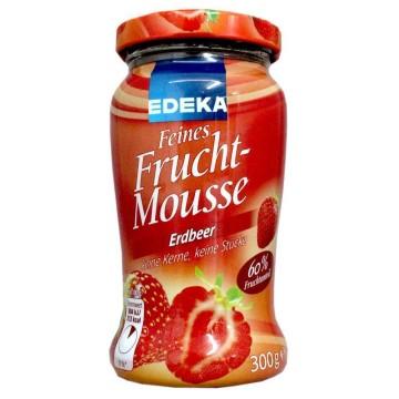Edeka Feines Fruchtmousse Erdbeer 300g/ Mermelada Suave de Fresa