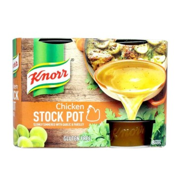 Knorr Chicken Stock Pot x8/ Cubitos de Caldo
