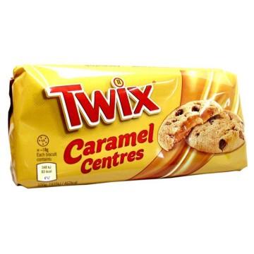 Twix Caramel Centres Cookies 144g/ Galletas Rellenas de Caramelo